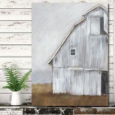 Rustic wall art Farmhouse Paintings, Farm Paintings, Farmhouse Wall Art, Rustic Wall Art, Rustic Walls, Wooden Wall Art, Diy Wall Art, Wall Art Decor, Canvas Paintings