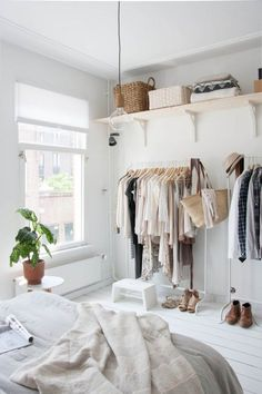 Gingerly Witty exposed open closets