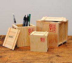Desk Crates | Incredible Things