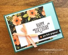 Stampin Up Happy Birthday Gorgeous Cards Ideas - Mary Fish StampinUp