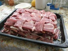 New year's delicacy - Silvestrovská pochúťka - Recept Pork Tenderloin Recipes, Pork Recipes, Cooking Recipes, Serbian Recipes, Czech Recipes, Pork Meat, Beef, Silvester Party, Food 52