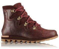 3564c85be73e The SOREL Women s Sneakchic Alpine Boot is a sporty, comfortable lace-up  ankle boot
