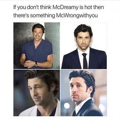 Greys Anatomy Derek, Greys Anatomy Funny, Greys Anatomy Facts, Grey Anatomy Quotes, Derek Shepherd, Meredith Grey, Nate Gossip Girl, Grey's Anatomy Wallpaper, Greys Anatomy Episodes