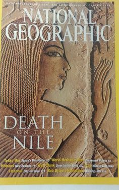National Geographic Magazine Death of The Nile October 2002 With map
