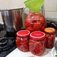 Legjobb receptjeim- avagy az étkezés összetartja a családot: ECETES PARADICSOM TÉLÉRE FŰSZEREK NÉLKÜL