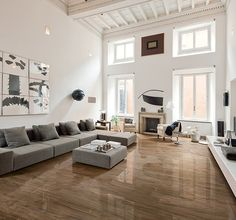 Boost your living room appearance with latest living room floor tiles