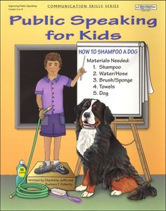 Public Speaking for Kids. I like this simple book for young speakers. . For #goalsetting and #KPI expert help follow @jamsovaluesmart and visit our website http://www.jamsovaluesmarter.com