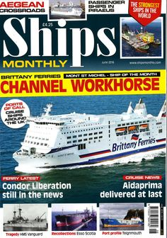 Ships Monthly (June 2016)