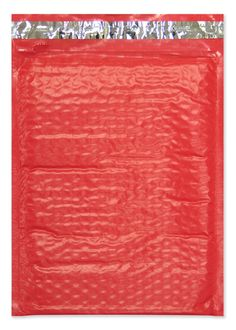 Red Poly Bubble Mailers