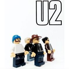 20 Bands as Legos: Nirvana, Fall Out Boy, U2, The Rolling Stones & More