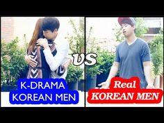[кореец 13]  K-Drama guys VS Real Korean guys Кореские парни в дорамах V...