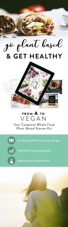 Check out our Complete Plant-Based #Vegan Starter Kit, including: - 200+ pages of Nutritional Information, Troubleshooting, Going Shopping, Portion & Calorie section and Scientific Studies about the Benefits of Veganism - 40 Delicious Everyday Recipes that are Fully Plant-Based and Free of Oil & Refined Sugar - Restaurant Guide to make Eating Out Easy - Build your Bowl Formula for Creating your Own Meals - Cheat Sheets, Checklists & Printables