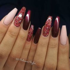 Wedding Fall Nails Designs That Inspire ★ See more: https://naildesignsjournal.com/wedding-fall-nails-designs/ #nails