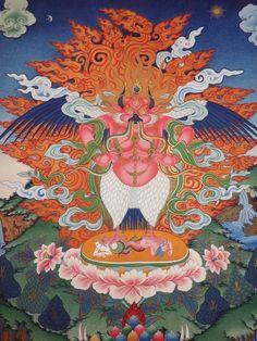Garuda ☸️ A eagle deva.