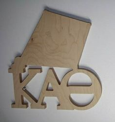 Looking for a unique way to get your Kappa Alpha Theta craft on? Want to show your big or little your chapter and symbol loyalty? The wooden Symbol with Letters plaque is custom made when you order, but the turn-around is quick - about 10 days. Dimensions are approximately 9.5 inches wide by 12.5 inches tall by 3/4 inches thick. Ready to paint. Other NPC groups available as well.