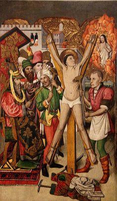 Sant Viçens en el eculi Jaume Huget 1455-60
