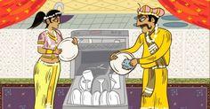 El Kama Sutra del matrimonio fue creado por el escritor Simon Rich y el famoso caricaturista Farley Katz. Ideal para las parejas que llevan años juntos