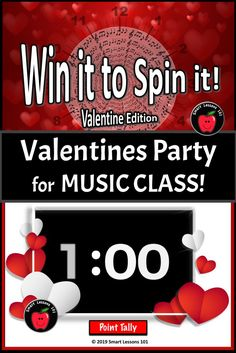 Valentines Day Music  Class Party Game