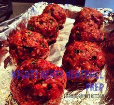 Meatball Prep - Beef Mince, beetroot... |LeanBeanNutrition