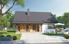 Projekt domu Talia, wizualizacja 1 Ideas Para, House Styles, Outdoor Decor, Modern, Home Decor, Houses, Trendy Tree, Decoration Home, Room Decor
