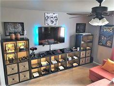 Boys Game Room, Game Room Basement, Basement Ideas, Teen Game Rooms, Small Game Rooms, Basement Designs, Playroom, Basement Renovations, Garage Game Rooms