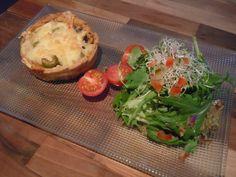Norwegian cheese quiche