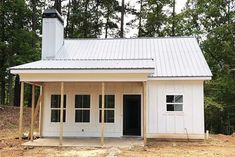 793 sq/ft Compact and Versatile to House Plan - thumb - 02 2 Bedroom House Plans, Barn House Plans, Cottage House Plans, New House Plans, Small House Plans, House Floor Plans, Guest Cottage Plans, Building A Small House, Small Cottage Homes