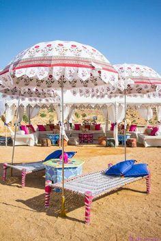 Indian Wedding Website : Wed Me Good | Indian Wedding Ideas & Vendors Online | Bridal Lehenga Photos Simple and less colourful decor