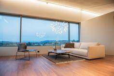Singelfamily house Built: 2016 Architect: Marita Hamre Floor: Walnut Andante, Boen flooring Furniture & lamps: Kielland AS House Built, Lamps, Windows, Flooring, Interior Design, Building, Furniture, B&b Italia, Lightbulbs