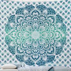 wandkleed tapestry mandala blanket wall hanging mandala beach towel hippie decorations polyester indian mandala
