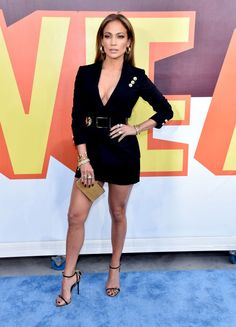 Jennifer Lopez's legs are out of this world. #MTVMovieAwards