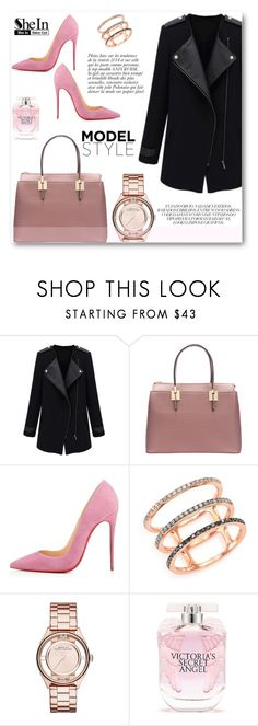 """Shein-10"" by angelstar92 ❤ liked on Polyvore featuring EF Collection, Marc by Marc Jacobs, Anja and Victoria's Secret"