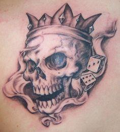 Skull Tattoo Flash Art   Locating Good Artwork of Skulls Online
