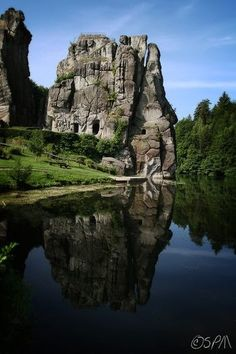 Externsteine, Germany
