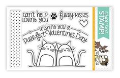 Simon Says Clear Stamps FURRY KISSES sss101213 $6.99