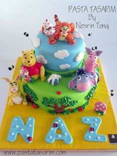 winnie the pooh novelty cake - Google Search