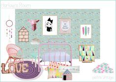 Design Board Gallery – Petite Vintage Interiors