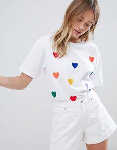 Monki Rainbow Heart