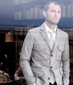 Love the jacket...Jude Law again