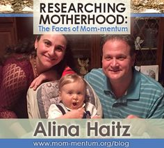 We inadvertently become researchers of life and motherhood when we study our own as well as other mothers' experiences and journeys. This is the concept behind our Faces of Mom-mentum series featuring interviews with different Mom-mentum members across the nation. Today we are introducing you to Alina Haitz, a Mom-mentum board member. Alina is a first time mom working in Human Resources at Molloy College and is a business partner with her husband—having founded Ark Academic Services.