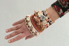 Pulseiras de Crochê – Super Tendência!!!