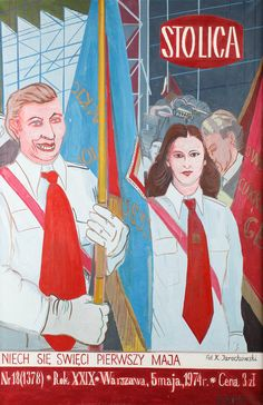 EDWARD DWURNIK (1943)  GAZETA VIII, 1976   olej, płótno / 146 x 97 cmArchiwalne