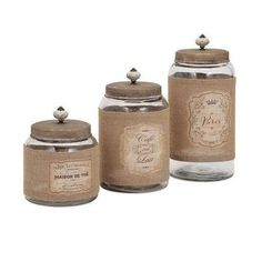 IMAX Home  65260-3  Accents  Carley  Home Decor  Canisters
