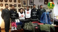 Capi di abbigliamento sequestrati, Finanza li dona tutto alla Croce rossa