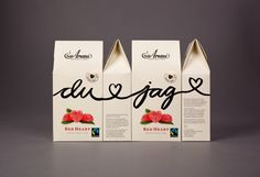 Aroma Du & Jag | Amore Packaging Design & Brand Identity