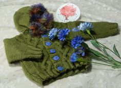 Green Hooded Jacket ---------- Heritage Baby Crafts  Shoes *** Toys *** Clothes *** Handmade *** Handcrafted *** Etsy *** Shop *** Knitting *** Crochet *** Sewn *** Unique