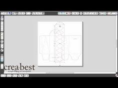 Silhouette Vrijdag: Een vorm uit een doosje snijden - YouTube