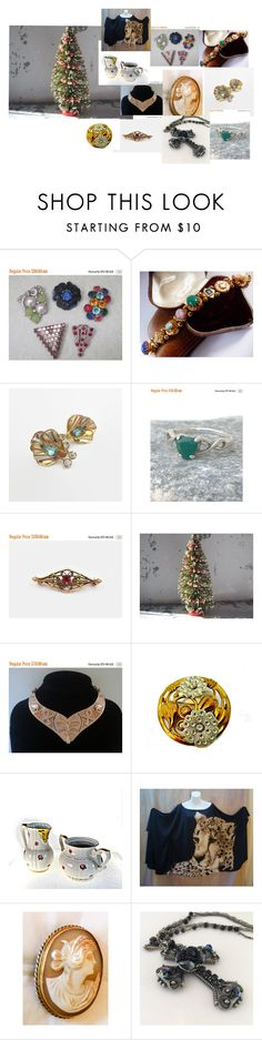 """""""Black Friday Sales Under the Tree"""" by ourboudoirkate ❤ liked on Polyvore featuring Ceres and Sarah Coventry"""