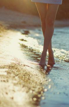 a walk on the beach.<3