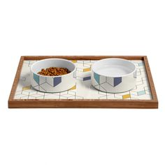 Florent Bodart Keziah Day Pet Bowl and Tray | DENY Designs Home Accessories